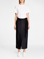 DKNY Pure Pant With Wrap Skirt