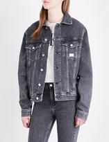 Calvin Klein Trucker stretch-denim jacket