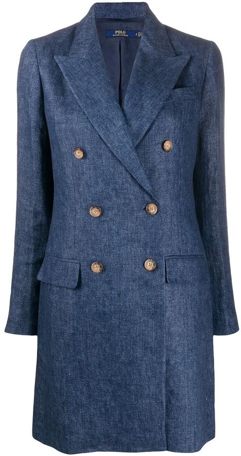 Polo Ralph Lauren double breasted coat