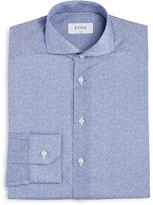 Eton of Sweden Small Abstract Floral Slim Fit Dress Shirt