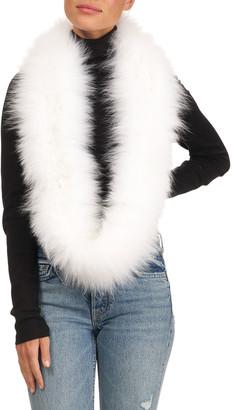 Gorski Shadow Fox Fur Infinity Scarf