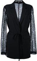 McQ lace sleeve blazer