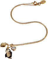 Juicy Couture Gold-Toned Penguin Mini Critter Necklace