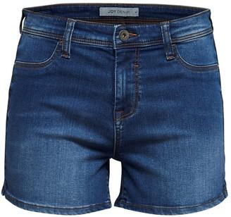 Jacqueline De Yong Jdyella Untreated Denim Shorts