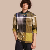 Burberry Graphic Tartan Cotton Shirt