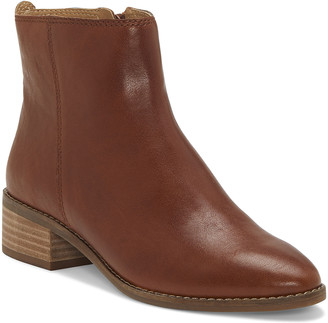 Lucky Brand Women's Casual boots WHISKEY - Whiskey Lenree Leather Ankle Boot - Women