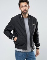 Fred Perry Laurel Wreath Bomber Made In England Single Tipped