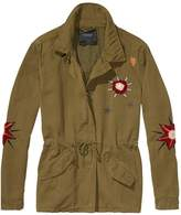 Scotch and Soda Embroidered Military Jacket