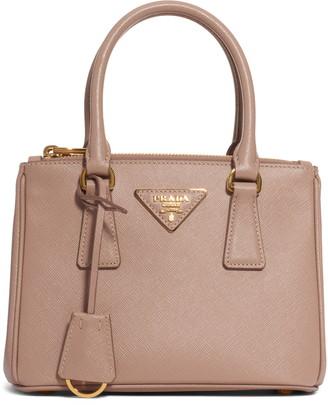 Prada Mini Galleria Saffiano Leather Satchel