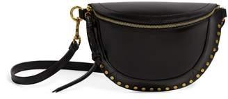 Isabel Marant Leather Skano Studded Belt Bag