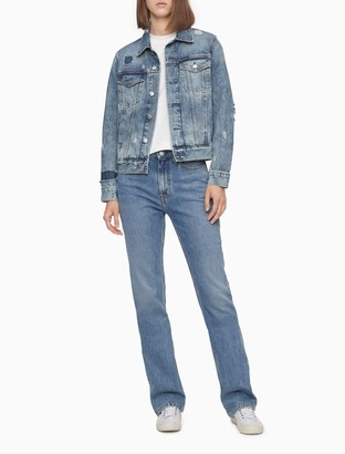 Calvin Klein Prime Blue Trucker Jacket