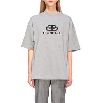 Balenciaga Over T-shirt With Bb Logo
