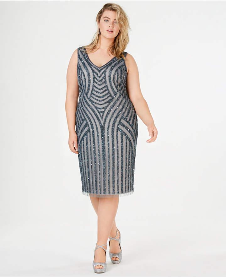 Plus Size Sheath Dress - ShopStyle
