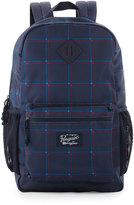 Original Penguin 3D Windowpane Backpack Bag, Blue