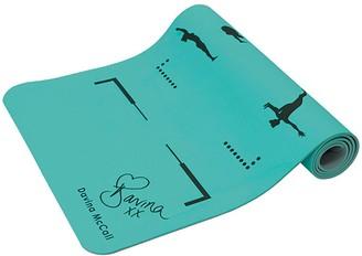 Davina Mccall Davina TPE Printed Yoga Mat - Blue