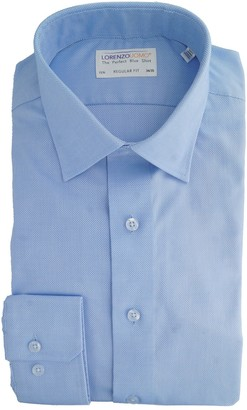 Lorenzo Uomo Royal Oxford Regular Fit Dress Shirt