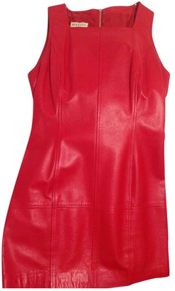 Max & Co. Red Leather Dress for Women