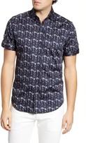 Robert Graham Tucker Short Sleeve Button-Up Shirt