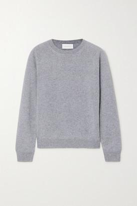 ALEXANDRA GOLOVANOFF Mila Melange Cashmere Sweater - Gray