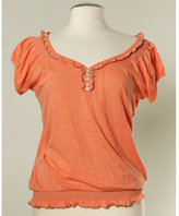 Nine West Grevillea Ruffle Top