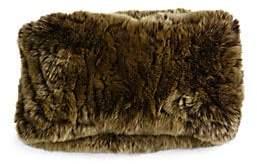 Surell Women's Rabbit Fur Convertible Headband