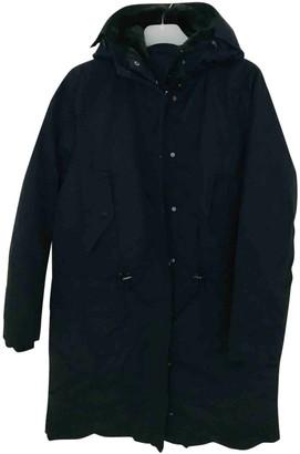 Acne Studios Blue Faux fur Coats