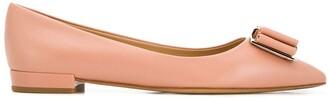 Salvatore Ferragamo Vara Bow ballerina shoes