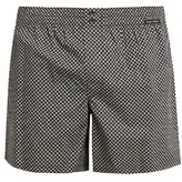 Dolce & Gabbana Circle-print cotton-poplin boxer shorts