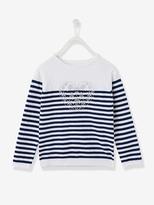 Vertbaudet Girls Striped T-shirt