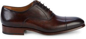 Magnanni Cap-Toe Leather Oxfords