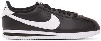 Nike Black and White Classic Cortez Sneakers