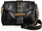 Marc Jacobs Lock and Strap Leather Shoulder Bag