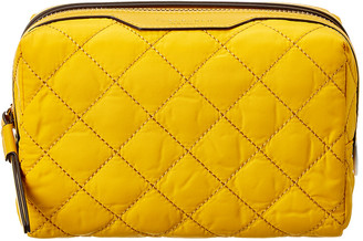Tory Burch Perry Quilted Nylon Cosmetic Case
