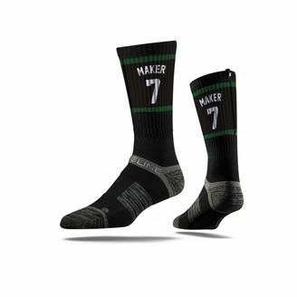 Strideline NBA Milwaukee Bucks Thon Maker Jersey Premium Athletic Crew Socks One Size