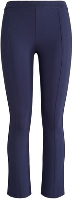Tory Burch Tech Ponte Cropped Flare Pants