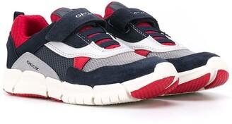 Geox Kids Flexyper touch-strap sneakers
