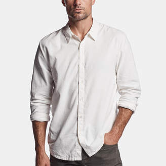 James Perse FINE CORD SHIRT
