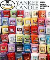 Yankee Candle Votives - Grab Bag of 10 Assorted Votive Candles - Random Mixed Scents