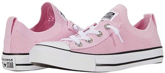 Converse Chuck Taylor All Star Shoreline Knit 3-D Print - Slip (Pink Glaze/Black/White) Women's Shoes