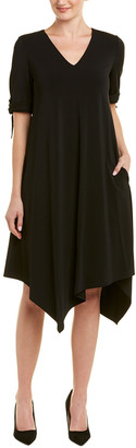 Lafayette 148 New York Asymmetric Shift Dress