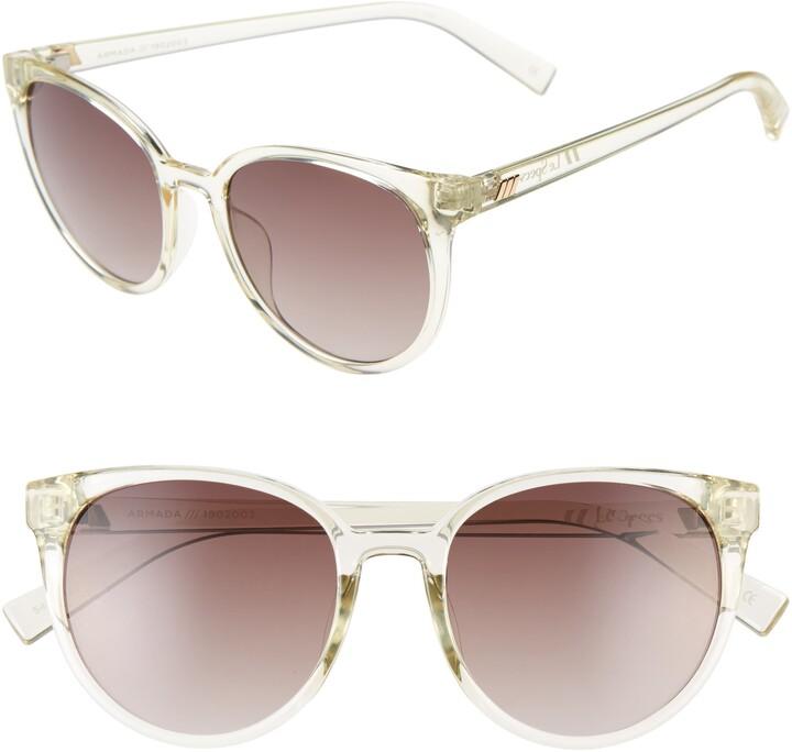 Le Specs Armada 54mm Cat Eye Sunglasses