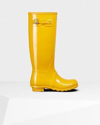 Hunter Women's Original Tall Gloss Wellington Boots