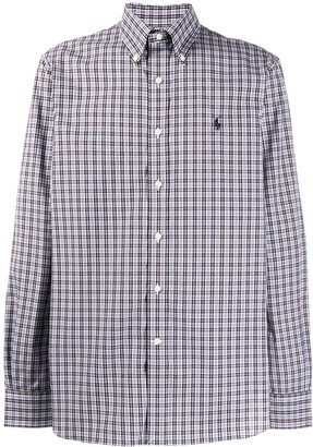 Polo Ralph Lauren plaid print shirt
