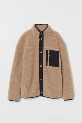H&M Fleece Jacket with Collar