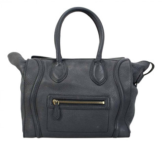 Celine Luggage Grey Leather Travel bags