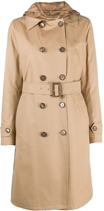 Herno Hooded Padded Trench Coat