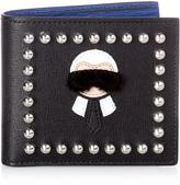 Fendi Karlito bi-fold leather wallet