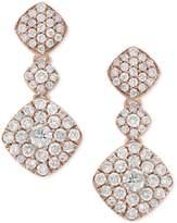 Effy Pavandeacute; Rose by EFFYandreg; Diamond Drop Earrings (1-1/4 ct. t.w.) in 14k Rose Gold