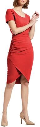 Michael Stars Kimber Tulip Skirt Knit Dress