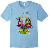Marvel Doctor Strange Classic Comic Scene Graphic T-Shirt